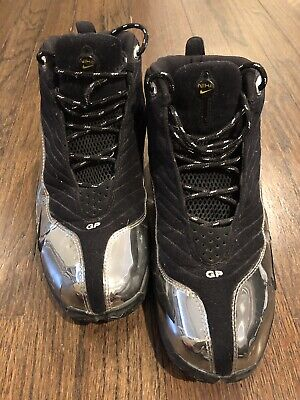 1a6eb47e3914b Nike Gary Payton The Glove Chrome Black Size 10.5 Stored For Over A Decade
