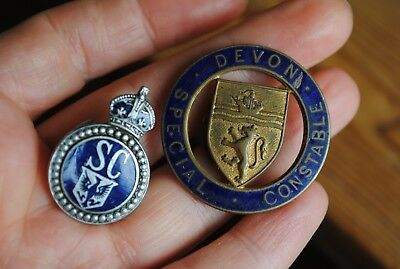 Old police badges