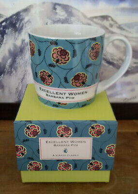 Literary Classic Mug - Excellent Women by Barbara Pym - Virago Boxed Mug Bookish