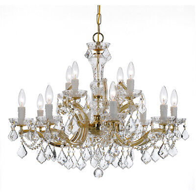 Crystorama 4479-GD-CL-I Maria Theresa Chandelier Gold