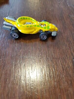 HOT WHEELS VINTAGE 1985 Mattel Yellow Scorpion Car Made in Thailand