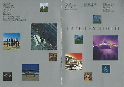 """""""TAKEN BY STORM"""" by STORM THORGERSON (Signed) Ltd. Ed. Book (82/500) PINK FLOYD"""