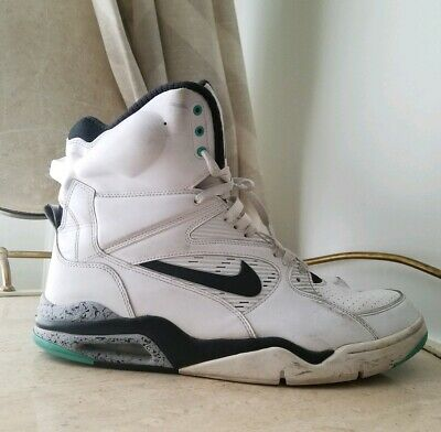 finest selection 39589 e1dde Nike Air Command Force Pump David Robinson White Jade 684715-102 Men Size 14