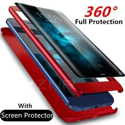 Luxury 360 Degrees Shockproof Phone Case For Samsung Galaxy S9 S8 Plus S7 Edge C