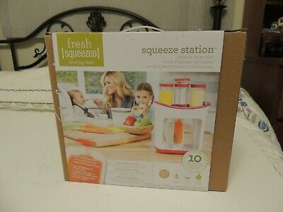 Cups, Dishes & Utensils Responsible Baby Feeding Food Squeeze Station Pouches Fruit Maker Dispenser Storage Diy Kit Baby