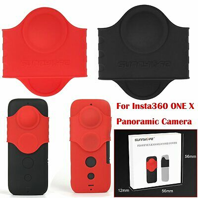 For Insta360 ONE X Panoramic Camera Anti-Scratch Silicone Case Protective Cover