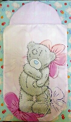 New Tatty Teddy toy pink pram pushchair cot bedding quilt pillow set baby doll