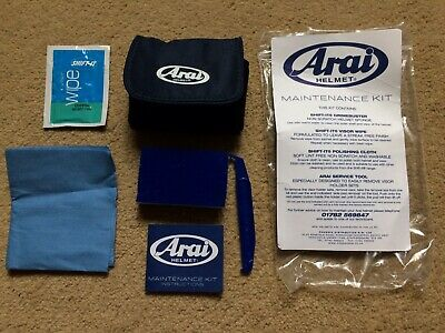 Arai Helmet Maintenance Cleaning Kit Motorcycle Kart Car Racing