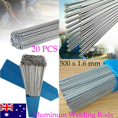 AU 20 PCS 1.6 mm Easy Aluminum Welding Rods Low Temperature 50 cm