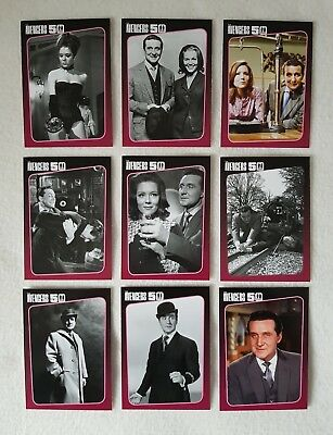 Unstoppable Cards The Avengers 50th Anniversary Trading Card Chase Set