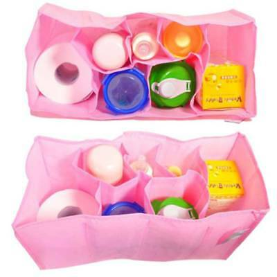 Storage Bag Diaper Inner Pouch Bag Nappy Water Bottle Changing Divider Portable