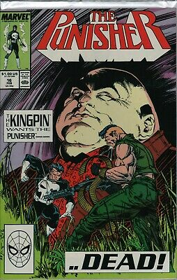 """THE PUNISHER #16 NM """"Kingpin""""   ref:F1.147"""