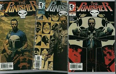 THE PUNISHER Marvel Knights #6 #7 #8 NM   ref:F1.152