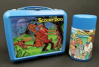 Lunch Box Scooby-Doo Aladdin Vintage Thermos Hanna Barberra