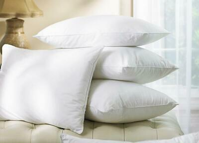 Luxury Hotel Feather Duck Down Pillow Bedding cotton cover 48 * 73