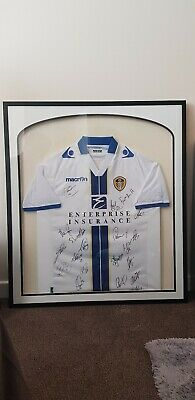 Signed Leeds United Shirt framed available now
