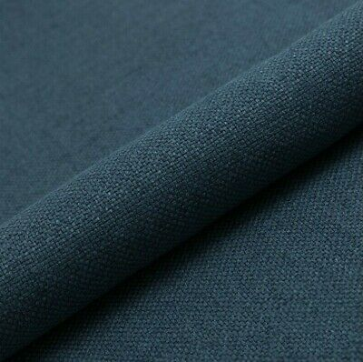 """10M PRESTIGIOUS SOFT PLAIN THICK WOOL UPHOLSTERY SEATING CURTAIN GREY FABRIC 54/"""""""
