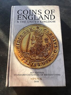 Coins Of England & The United Kingdom 45th Edition SPINK 2010