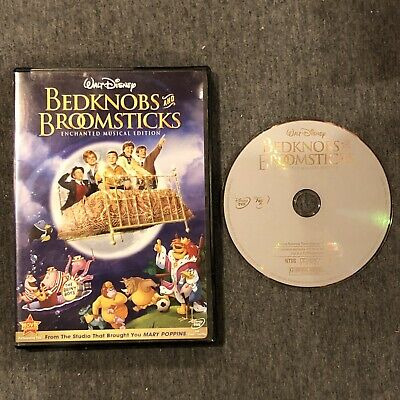 Walt Disney Bedknobs and Broomsticks Enchanted Musical Edition DVD NTSC (used)