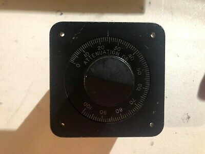 Weinschel Engineering 2691Attenuator Dial