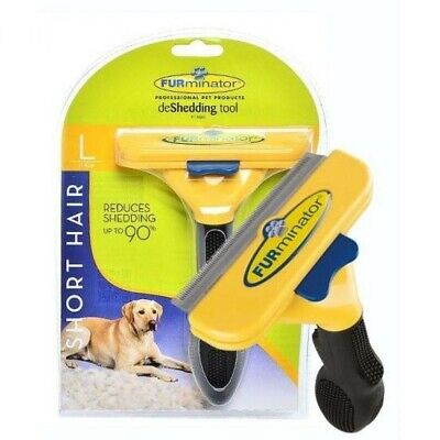 "FURminator Professional Deshedding Tool For Large Dogs ( 4"" edge )"