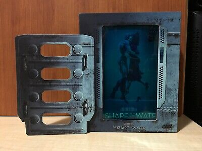 The Shape of Water Manta Lab Boxset+1/4 Slip Exclusive Edition Blu-ray Steelbook