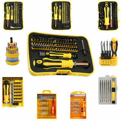 Various Screwdriver Bit Socket Sets For Screw Nut Bolt Slotted Philips Hex Torx