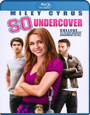So Undercover - Miley Cyrus (Blu-ray Disc, 2013) - Brand New