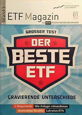 Etf Magazin Nr. 1 - März 2019 (Focus Money) -Neu! Ungelesen!-