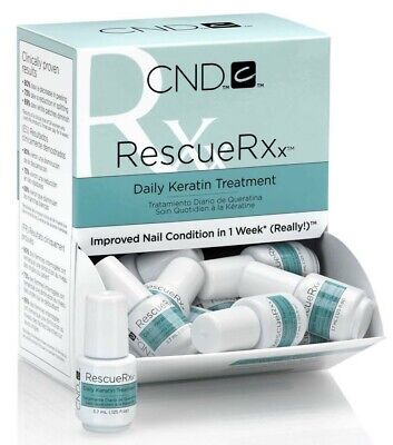 CND RESCUE Rxx 3.7mL DAILY KERATIN TREATMENT RescueRxx Mini Travel Size