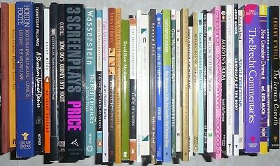 Large Lot #60 - c.40 books - Drama Theatre Plays Screenplays Foote Brecht Hare