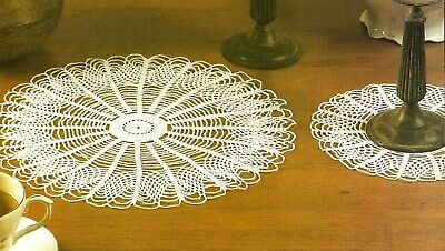 Variations on a Theme ~ Lacy Doilies Old-Time Favorites crochet pattern leaflet
