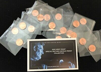2019-W REVERSE PROOF LINCOLN CENT 2nd 'W' Penny ~  SHIPS NOW!