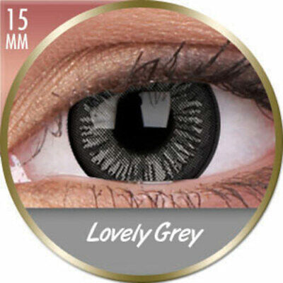 Lentillas Big Eyes Lovely Gris Grises phantasee (3 Meses ) phantasee