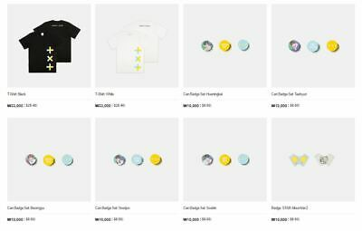 [TXT] - TOMORROW X TOGETHER' 1st official MD products From Big Hit