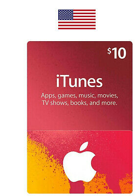 US iTunes Card US$10  For US ACCOUNTS ONLY (Email Delivery)!!!!!!!!!!!