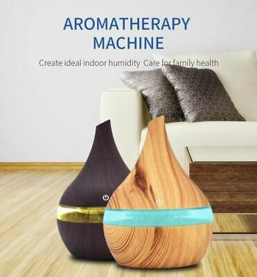 300ml Humidifier Aroma  Essential Oil Diffuser Ultrasonic Color Aromatherapy AU