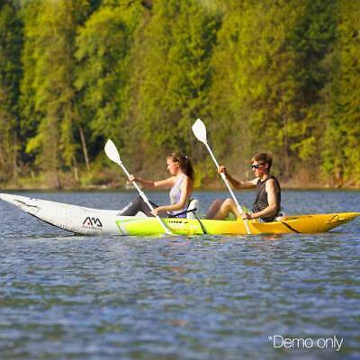 Aqua Marina 2 Person Inflatable Stand-up Paddle Board Heavy-duty reinforced PVC
