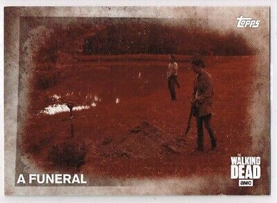 The Walking Dead - SEASON 5 ☆ SEPIA PARALLEL ☆ Trading Card #55 (#04/10)