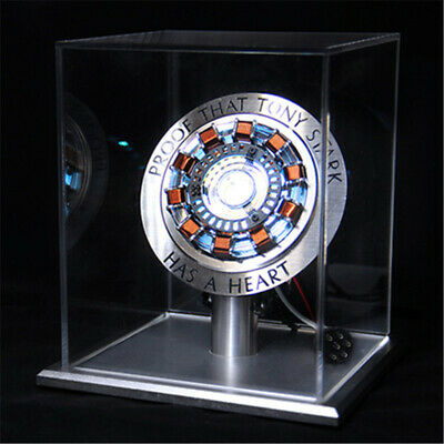 The Avengers Iron Man Tony Stark MK1 Reactor DIY Remote Control Light Collectors