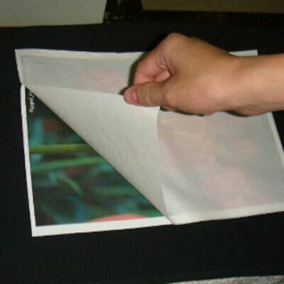 10Sheets A4 Transfer Paper Digital Thermal Tear Inkjet Iron for Cotton Fabric LN