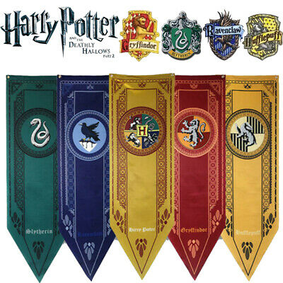 HARRY POTTER PARTY College Flags Banners Gryffindor