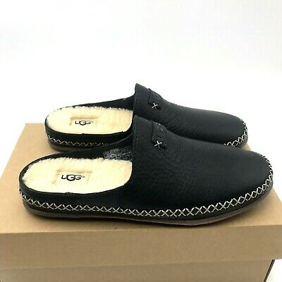 0f0322b2d68 UGG TAMARA SLIP-ON House Slippers, Suede, Wool Insole in Black, Blue ...
