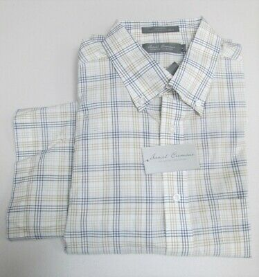 Daniel Cremieux Signature Collection White 00C Pocket S//S Button-Down Shirt NWT