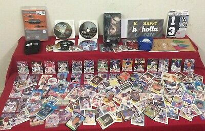 Junk Drawer Lot of Collectibles, New & Older Baseball Cards & Misc #H101