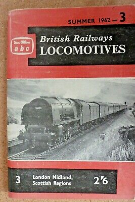 Ian Allan abc British Railways Locomotives London Midland Scottish Region 1962
