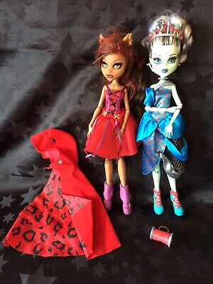 Monster High Scarily Ever After Little Dead Riding Wolf & Threaderella