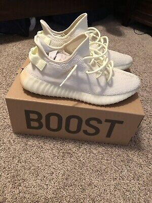 769cf6572 YEEZY BOOST 350 v2 Butter Men s Size 13 100% Authentic W receipt ...