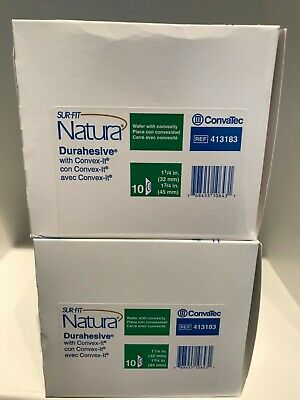 Lot Of 2 Convatec 413183 Sur-Fit Durahesive W/Convex-It