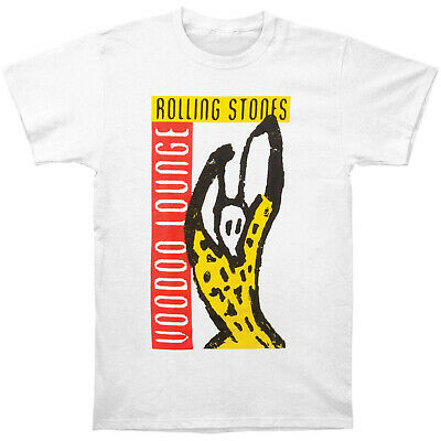 Authentic THE ROLLING STONES Voodoo Lounge Slim Fit T-Shirt White S-2XL NEW